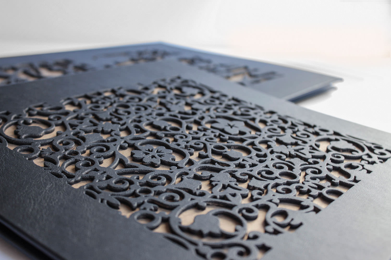 Mit Laserdruck kann auch Filigranes erstellt werden